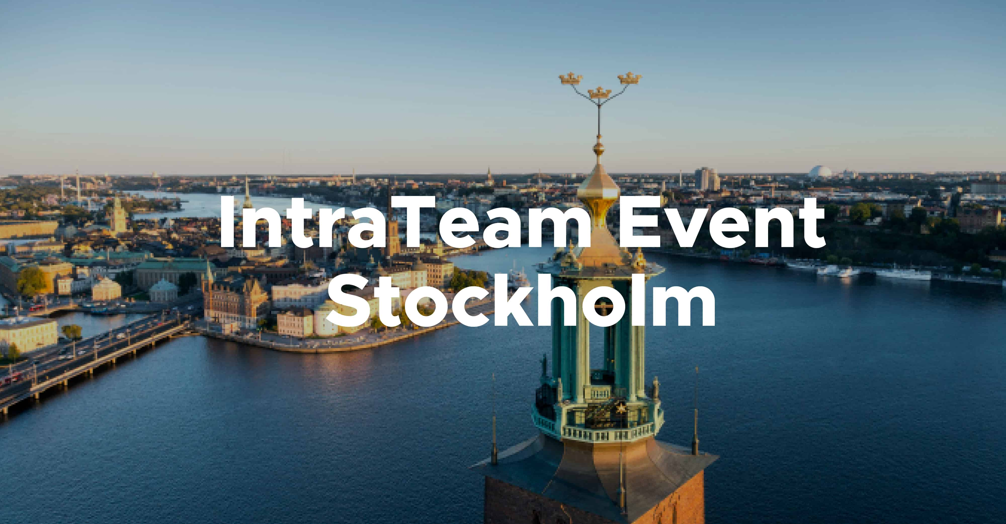 IntraTeam Event Stockholm