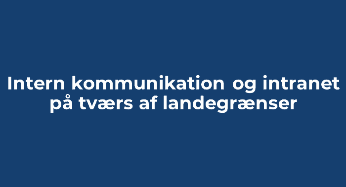 Video i den interne kommunikation