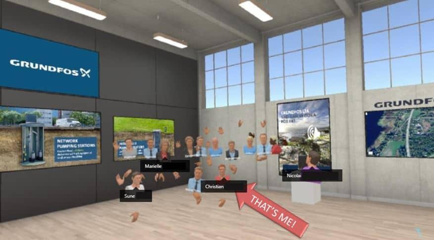 Virtual Reality hos Grundfos