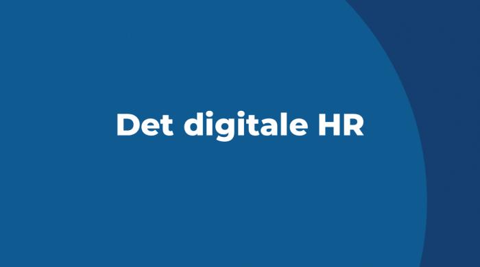 Det digitale HR