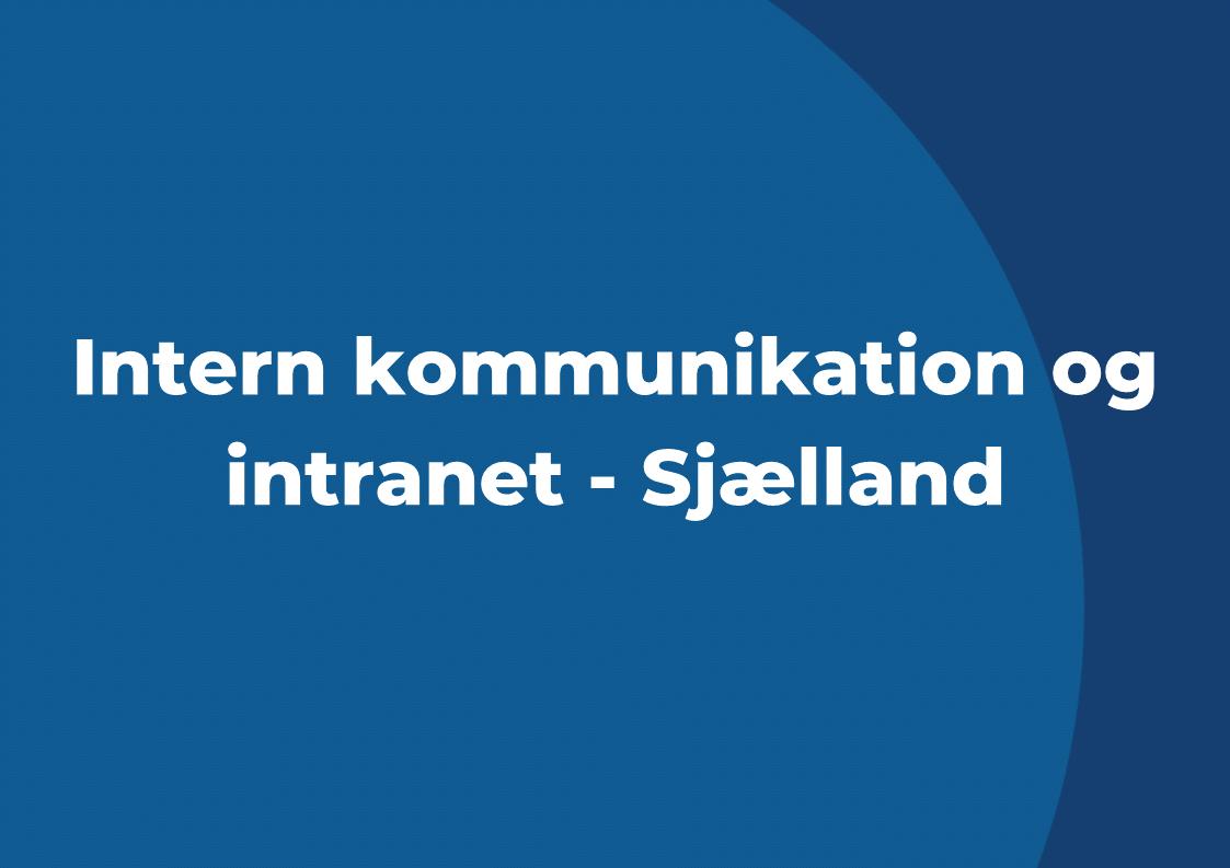 Interne kommunikationskanaler
